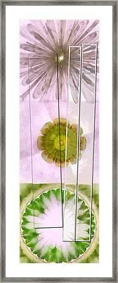 Relearnt Organization Flowers  Id 16165-110419-90891 Framed Print by S Lurk
