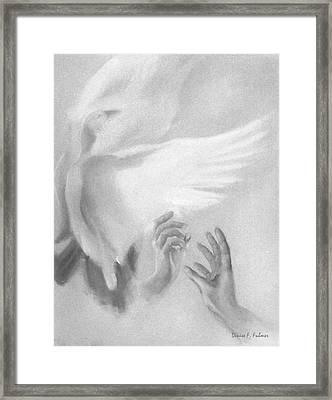 Release Framed Print by Denise Fulmer