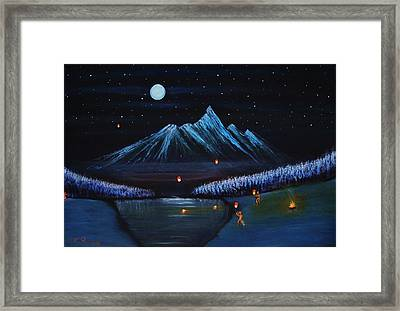 Release Framed Print by Farshad Sanaee The Apple