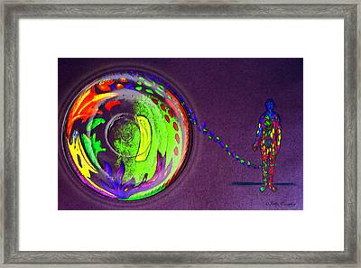Release Framed Print by John Quigley