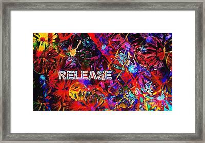 Release Framed Print