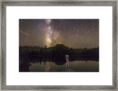 Release Your Problems Framed Print by Jeremy Jensen
