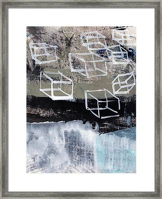 Released- Abstract Art Framed Print by Linda Woods