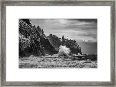 Relentless Assault Framed Print