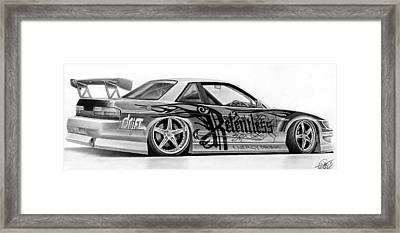 Relentless Drift Framed Print by Lyle Brown