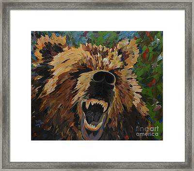 Relentless Framed Print