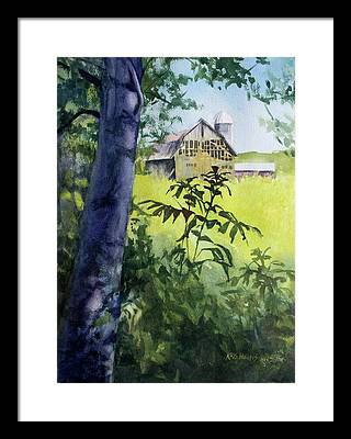 Haybarn Framed Prints
