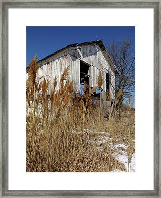 Relic Near Town Framed Print by Scott Kingery