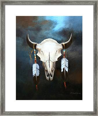 Relic Of The Plains Framed Print by Brooke Lyman