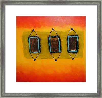 Relics From Roswell Framed Print by Richard OBrien