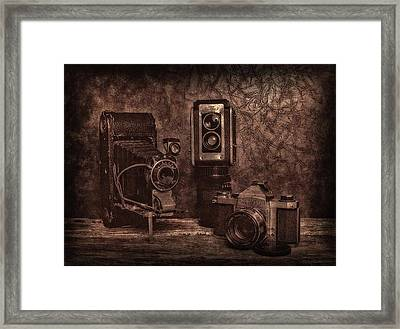 Framed Print featuring the photograph Relics by Mark Fuller