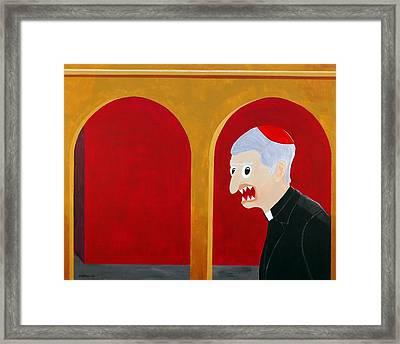 Religion Framed Print by Sal Marino