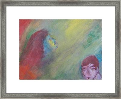 Religious Fanatic Framed Print by Judith Redman