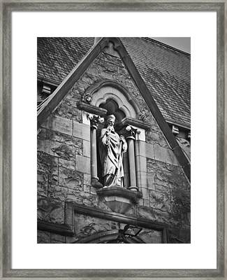 Religious Icon Nenagh Ireland Framed Print by Teresa Mucha