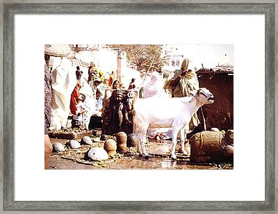 Religious Site, India Framed Print