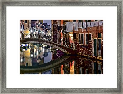 Italian Charm Framed Print by Frozen in Time Fine Art Photography