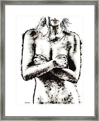 Reluctance Framed Print by Richard Young