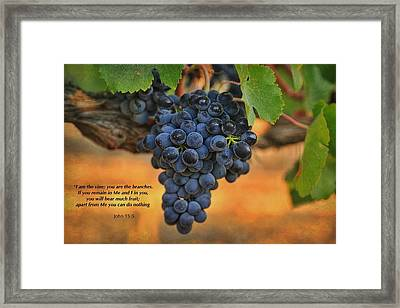 Remain In Me Framed Print