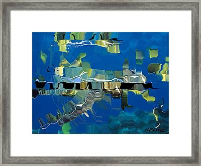 Remains Framed Print by D Perry