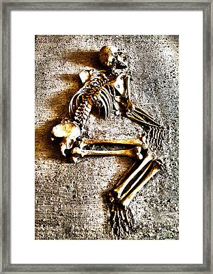 Remains ... Framed Print by Juergen Weiss