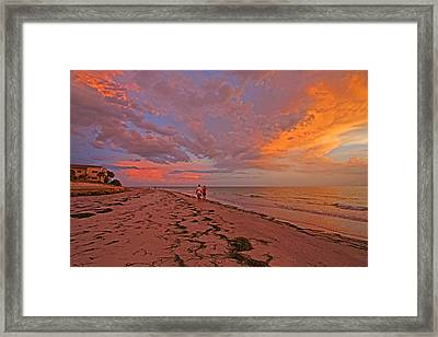 Remains Of The Day Framed Print by HH Photography of Florida