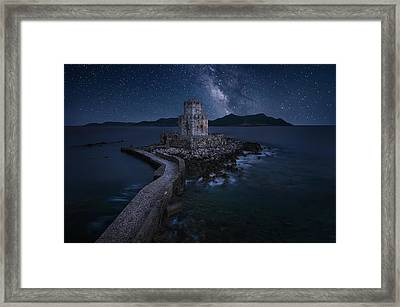 Remains Of The Past Framed Print by Chriskaddas