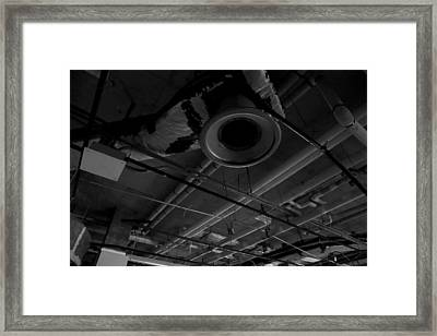 Remains Of Time Framed Print