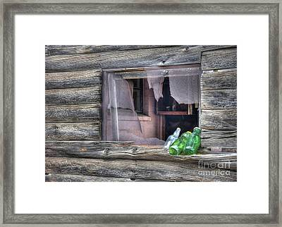 Remains Of Visitors  Framed Print by Thomas Todd