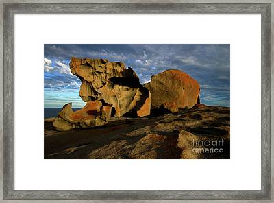 Remarkable Framed Print by Mike Dawson