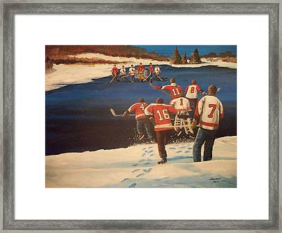 Rematch 2010 - The Bullies Are Back Framed Print