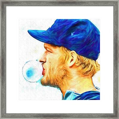 #rembrandt #baseball #mlb #sports Framed Print