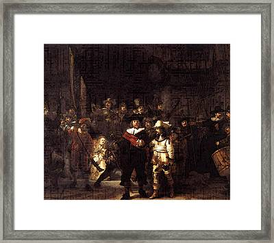Rembrandt The Nightwatch Framed Print