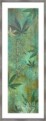 Remedy Framed Print by Gayle Utter