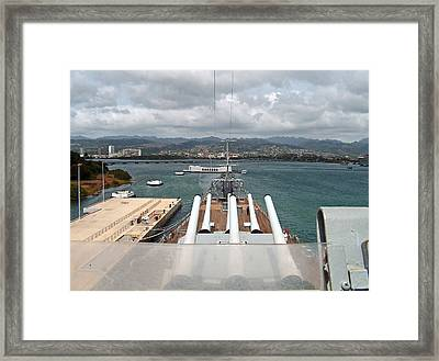 Framed Print featuring the photograph Remember 1941 by Anthony Baatz