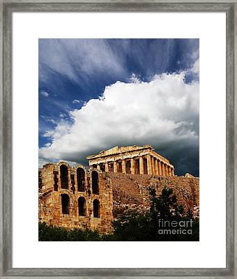 Remember Democracy Framed Print by Bob Christopher
