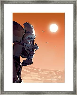 Remember Me Sunset Framed Print