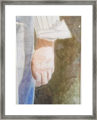 Remember Framed Print by Robby  Entrekin