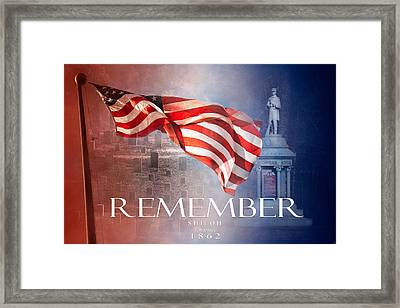 Remember Shiloh Tennessee Framed Print by Jai Johnson