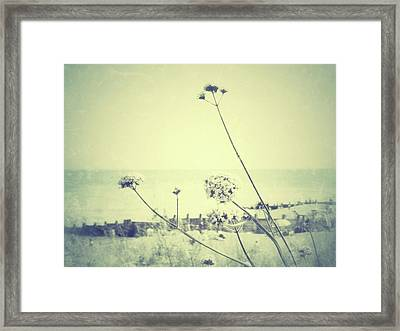 Remember That Summer Framed Print by Connie Handscomb