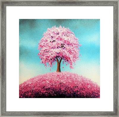 Remember The Bloom Framed Print by Rachel Bingaman