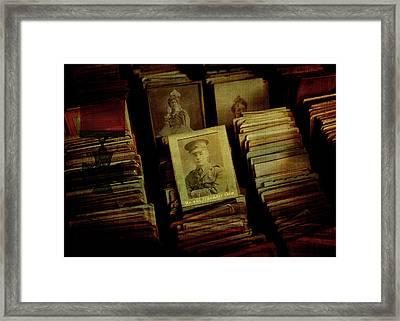 Remember The Fallen Framed Print by Sarah Vernon