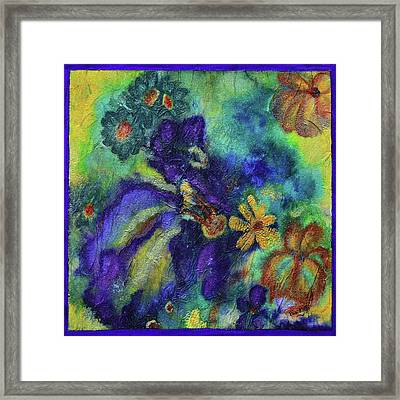 Remember The Flowers Framed Print by Donna Blackhall
