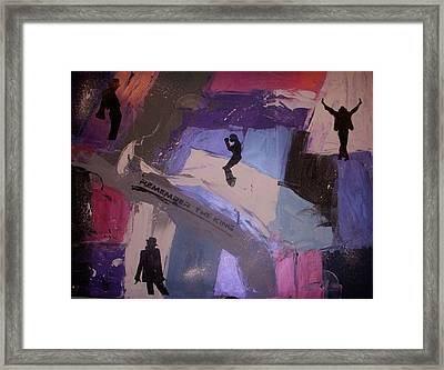 Remember The King Framed Print by Joey Santiago