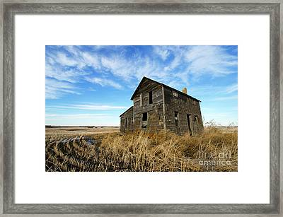 Remember The Past Work For The Future 2 Framed Print by Bob Christopher