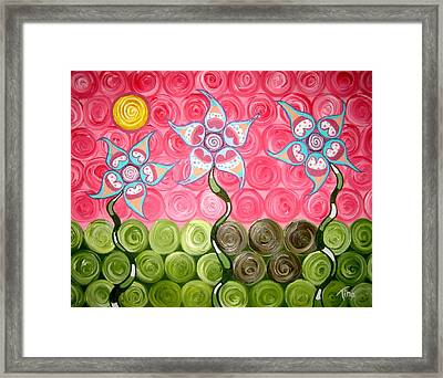 Remember The Pit Framed Print by Tina Hollis