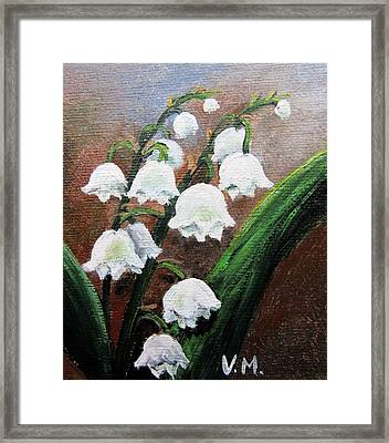 Remember The Scent Framed Print