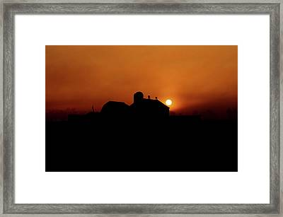 Framed Print featuring the photograph Remember The Sun by Robert Geary