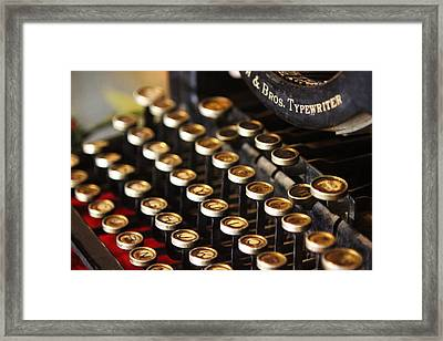 Remember When Framed Print by Lori Mellen-Pagliaro