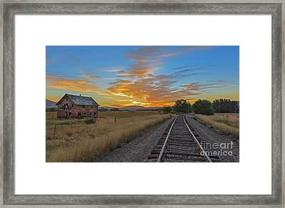 Remember When Framed Print by Robert Bales