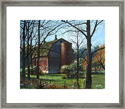Remember When Framed Print by William  Brody